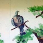 """2015, mural att preschool """"Storken"""", Visby. (detail)"""